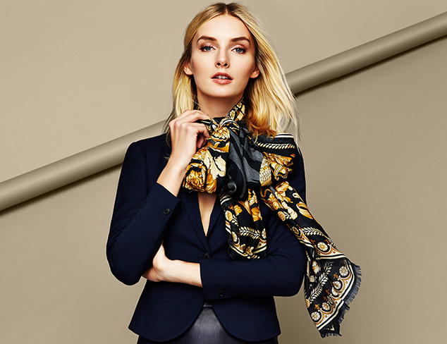 Under $100 Versace Silk Scarves at MYHABIT