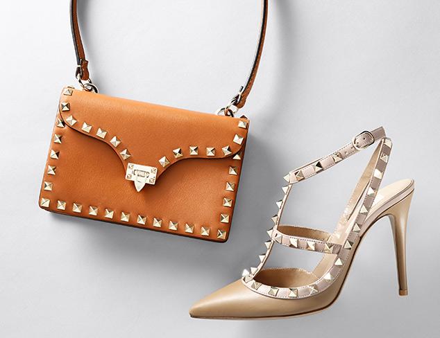 Valentino Footwear & Handbags at MYHABIT