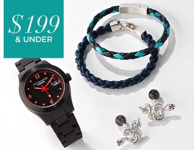 $199 & Under Designer Jewelry & Watches at MYHABIT