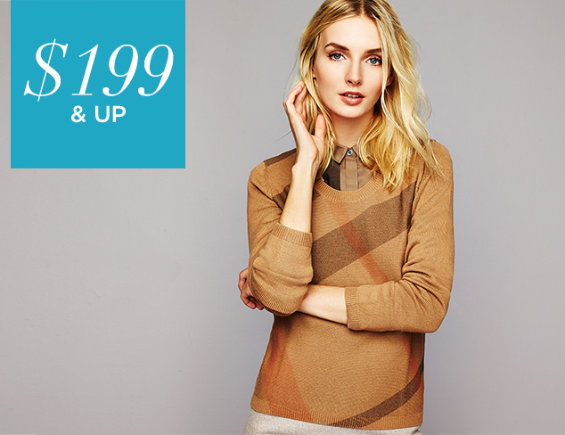 $199 & Up Designer Sweaters & Outerwear at MYHABIT