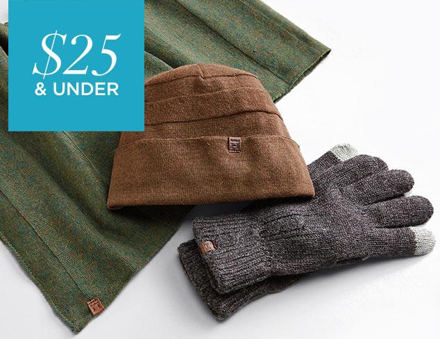 $25 & Under Hagger Winter Accessories at MYHABIT
