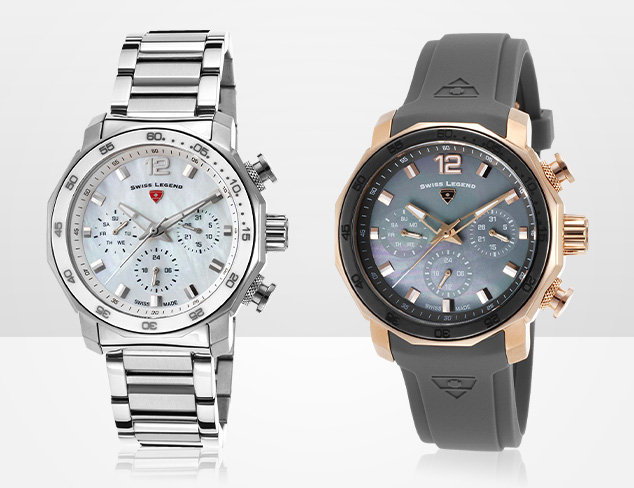 80 Off & More Swiss Legend Watches at MYHABIT
