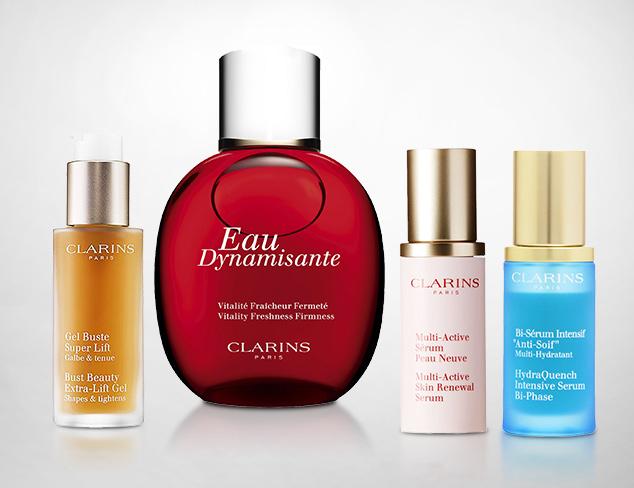 Clarins, Guerlain & Shiseido at MYHABIT
