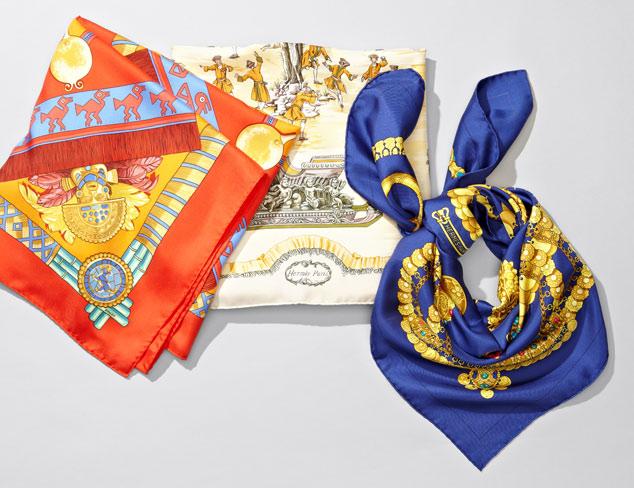 Hermès Scarves at MYHABIT
