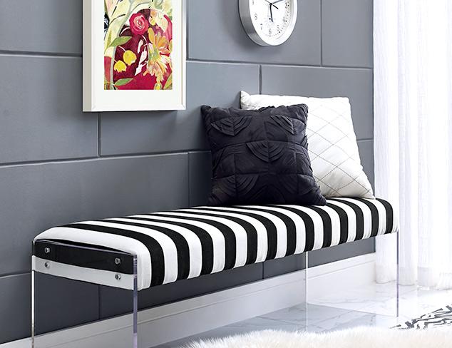 Modern Glamour Furniture & Mirrors at MYHABIT