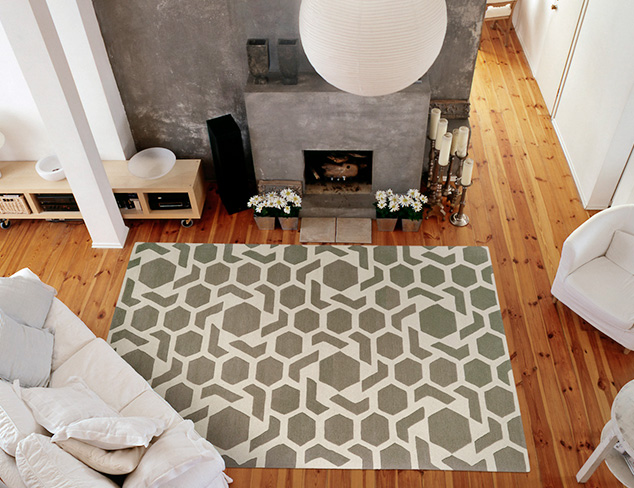 New Rugs from Kaleen at MYHABIT