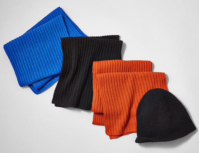 Portolano Cashmere Cold Weather Accessories at MYHABIT