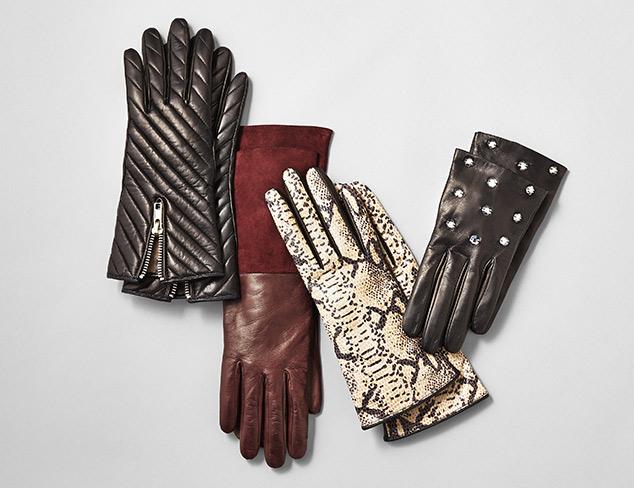 Portolano Leather Gloves at MYHABIT