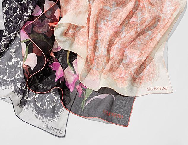 Valentino Scarves & More at MYHABIT