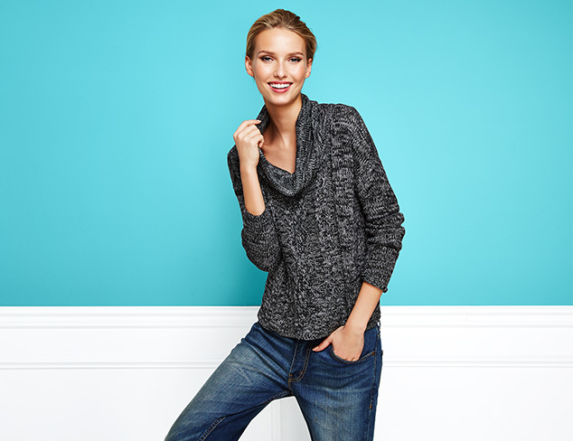James & Erin Chunky Knit Sweaters at MYHABIT