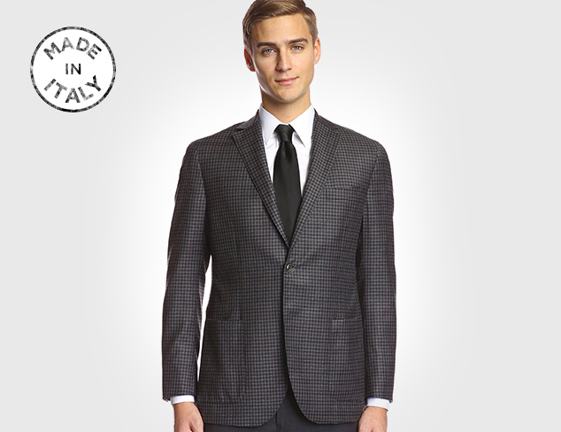 Made in Italy Franklin Tailored Sportcoats at MYHABIT