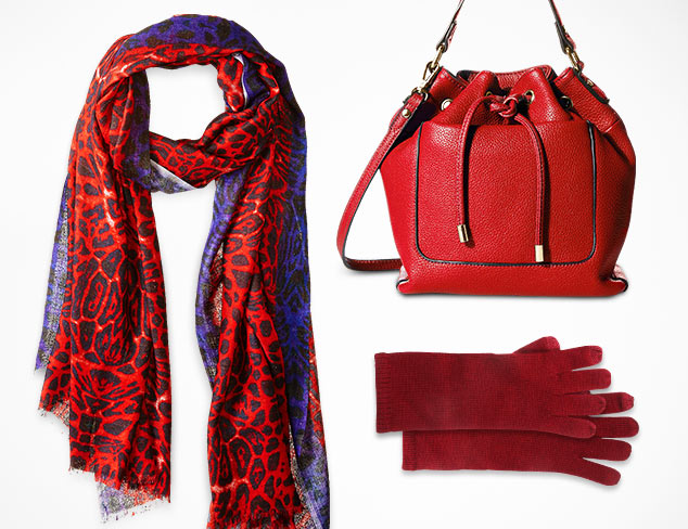 Shades of Red Bold to Burgundy at MYHABIT