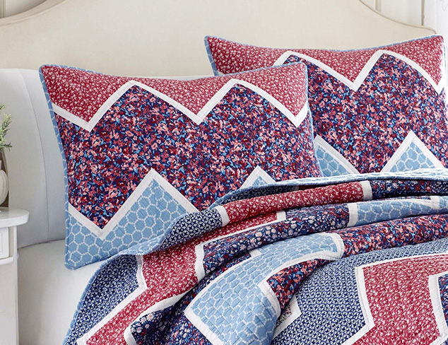 A Stitch in Time Quilted Bedding at MYHABIT