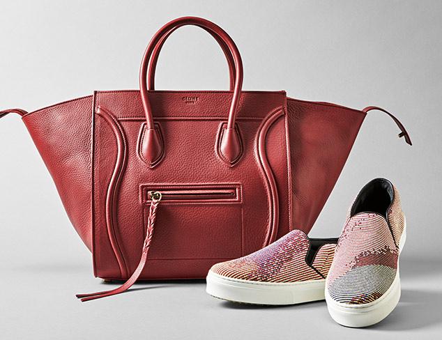 c61ca9f7ed2b Designer Shoes   Bags feat. Céline at MYHABIT