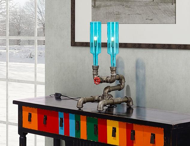 Industrial Intrigue Lighting at MYHABIT