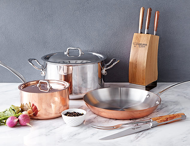 Luxe Kitchenware feat. Mauviel at MYHABIT