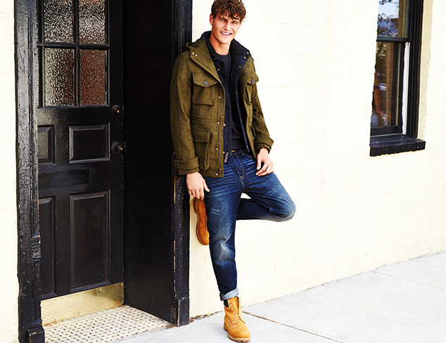 Refined Casual Timberland  & More at MYHABIT