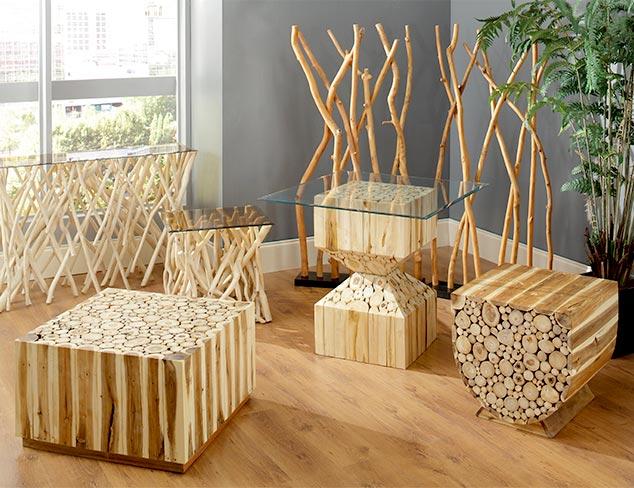 Under $200 Wood Furniture at MYHABIT