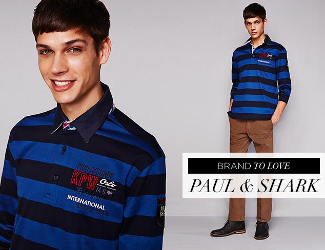 Brand to Love Paul & Shark at MYHABIT