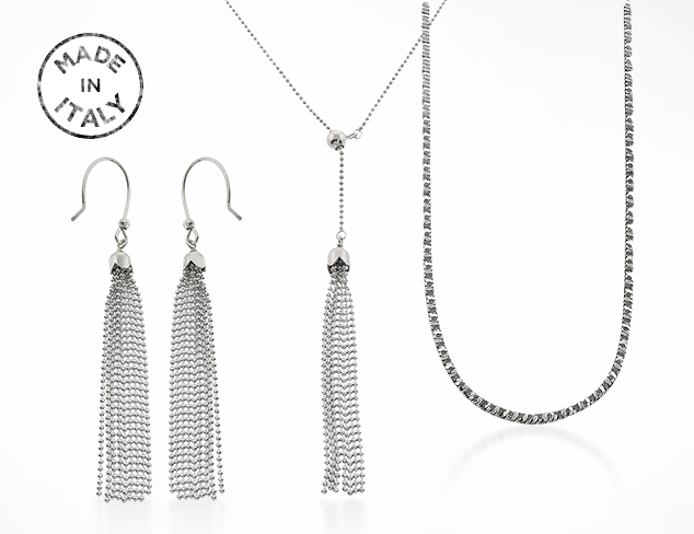 Made In Italy Juinsix Sterling Silver Jewelry at MYHABIT