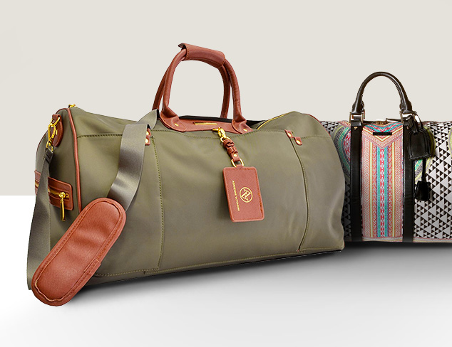 The Escape Weekender Bags at MYHABIT