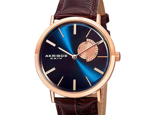 Akribos XXIV Watches at MYHABIT