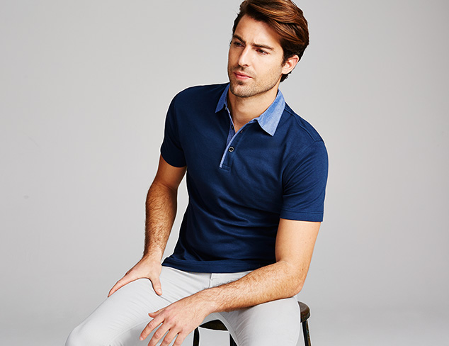 James Campbell Polos at MYHABIT