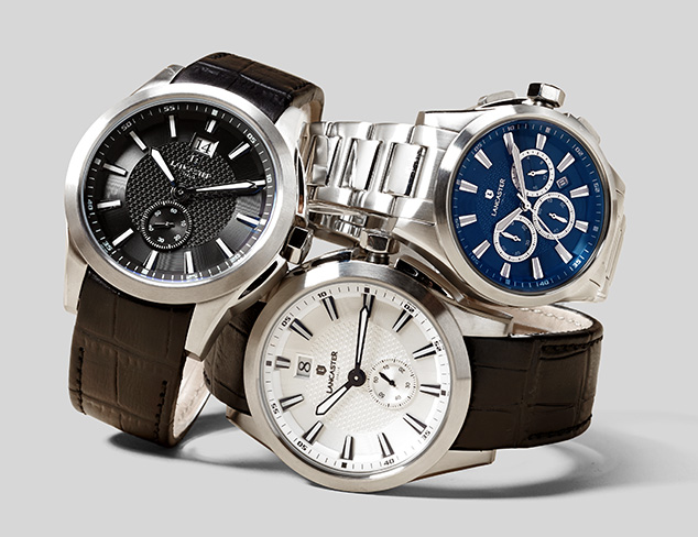 Lancaster Watches at MYHABIT