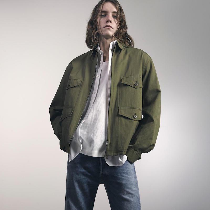 Lemaire Wool-blend Bomber Jacket