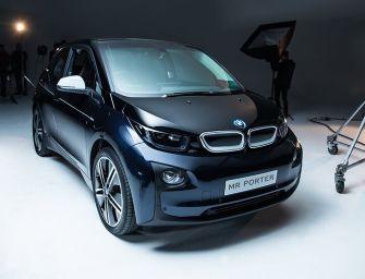 Mr Porter x BMW i3 Limited-Edition Electric Car