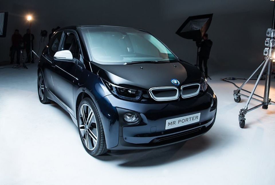 Mr Porter x BMW i3 Limited-Edition Electric Car