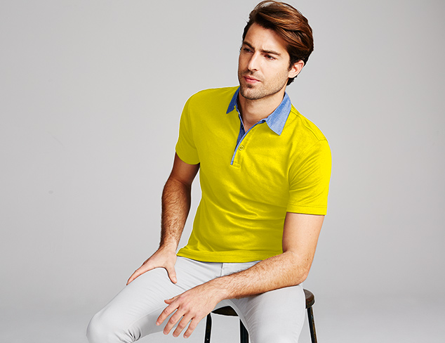 Button Ups & Polos feat. James Campbell at MyHabit