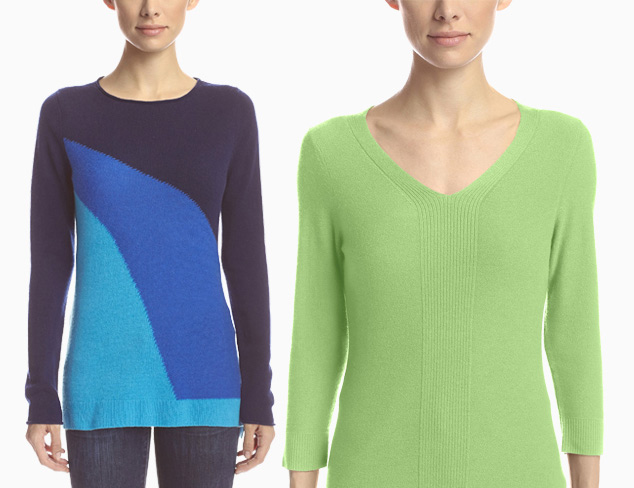 Forté Tops & Sweaters incl. Cashmere & Silk at MyHabit