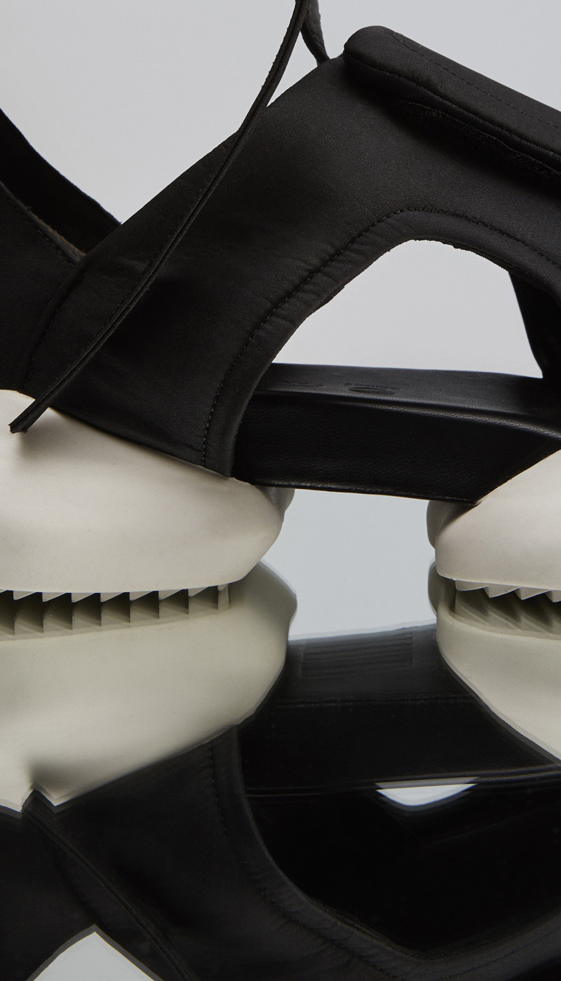 Rick Owens x adidas Velcro Strap Cargo Sandals_3