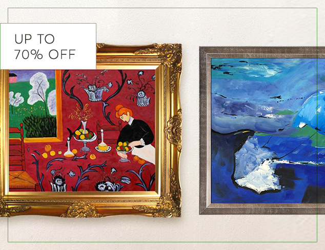 Up to 70 Off Art & Décor at MyHabit