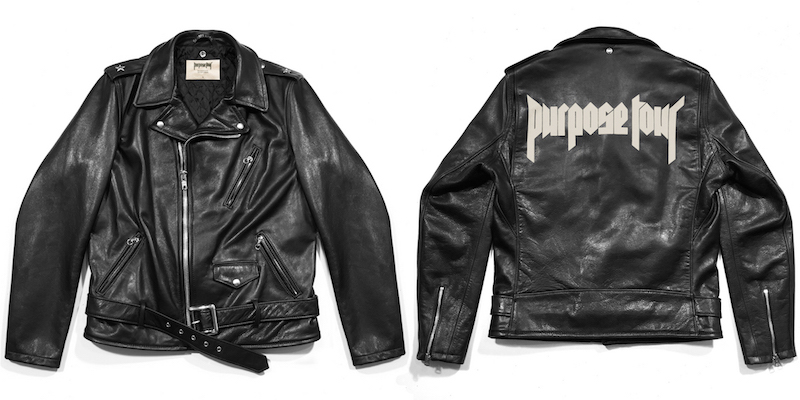 Purpose Tour XO Barneys New York %22Purpose Tour%22 Leather Moto Jacket