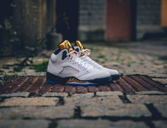 "Shoe of the Day // Jordan Brand Air Jordan 5 Retro ""Gold Tongue"""