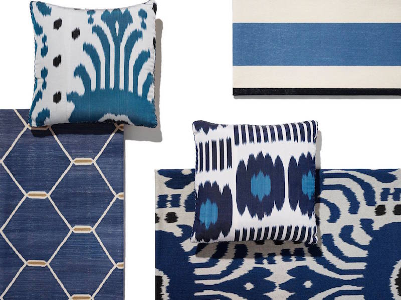 Madeline Weinrib Pillow and Carpet