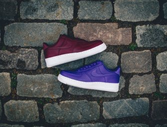 "Shoe of the Day // NikeLab Air Force 1 Low ""Concord"" and ""Night Maroon"""
