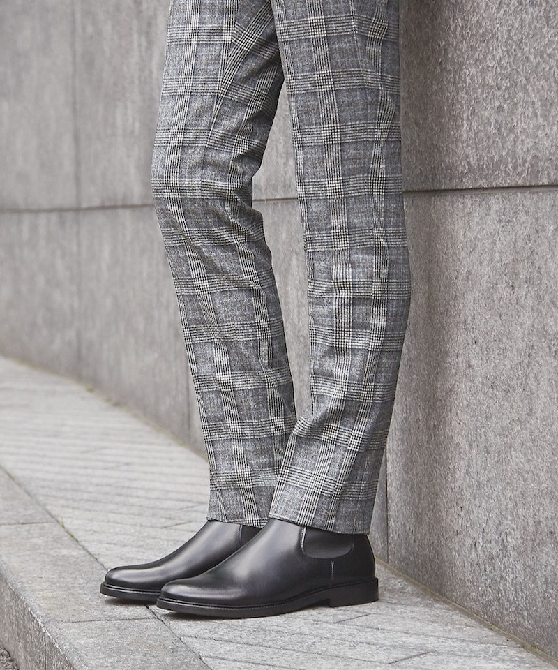 A.P.C. Elastique Leather Boots
