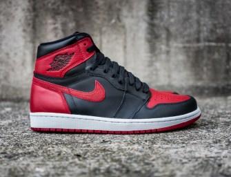 """Shoe of the Day // Jordan Brand Air Jordan 1 Retro High OG """"Banned"""""""