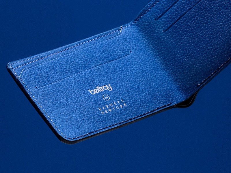 Bellroy XO Barneys New York Hide & Seek Billfold