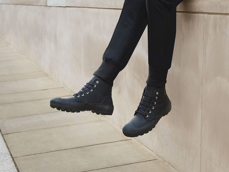 Burberry Rubberised Leather Boots