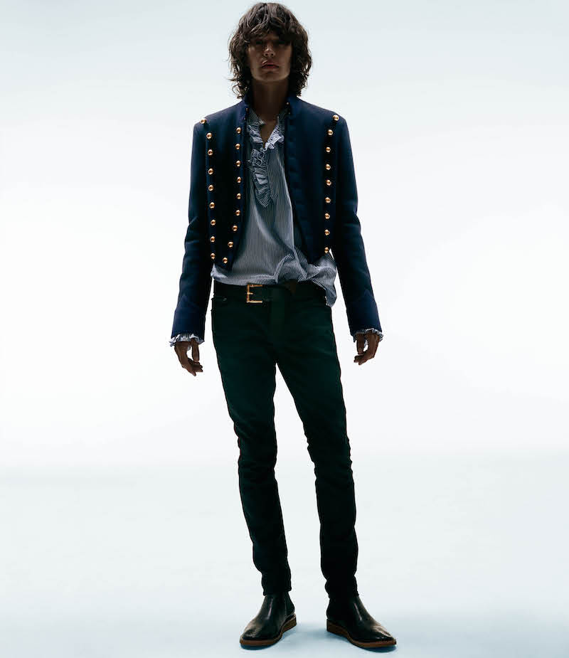 Burberry X Barneys New York Parade Crop Jacket