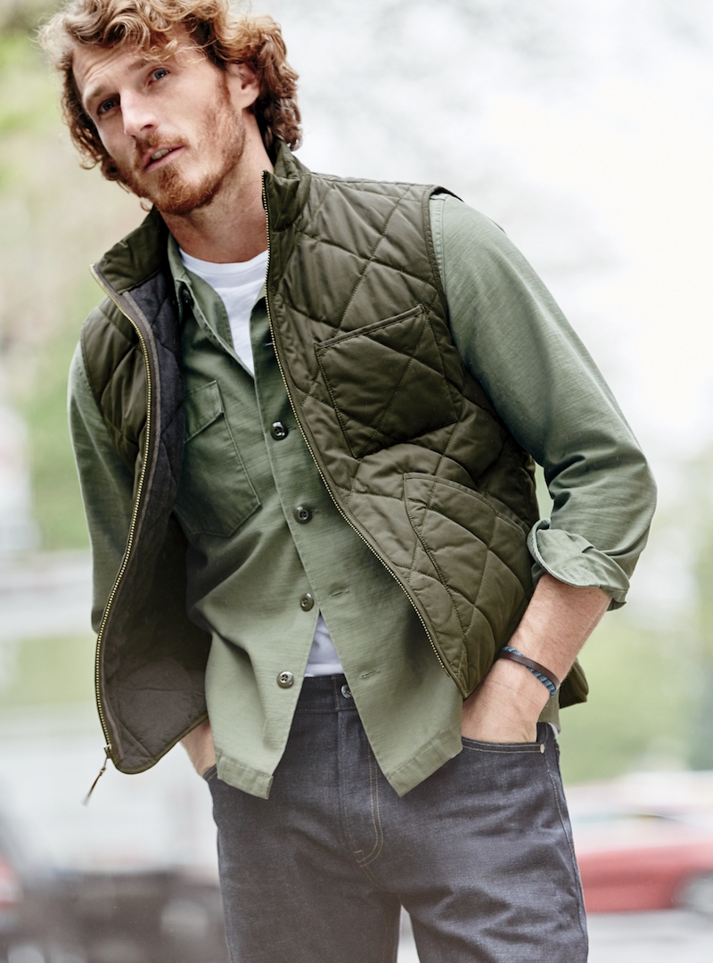 J.Crew Sussex Quilted Vest
