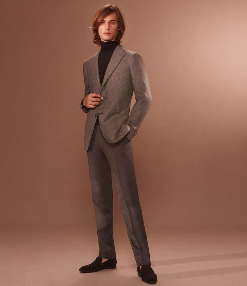 Cifonelli Cashmere Silk Two Button Sportcoat