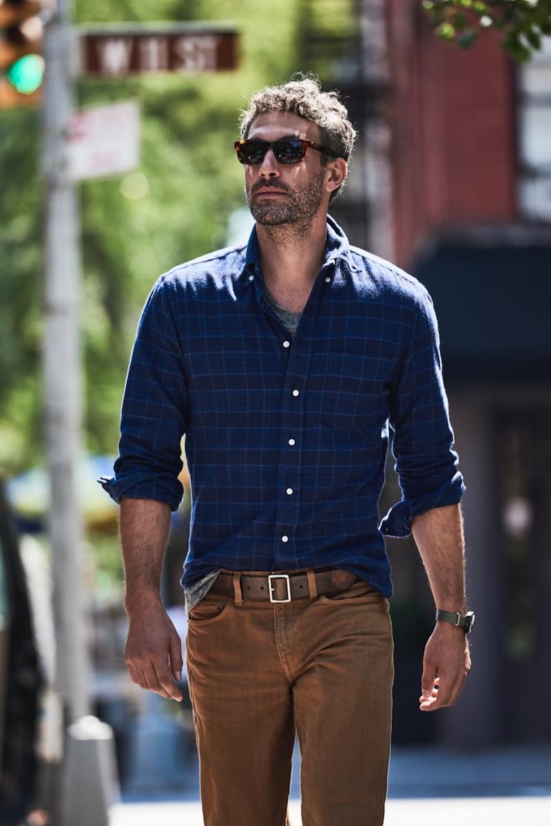 Gitman Vintage for J.Crew Brushed Flannel Shirt