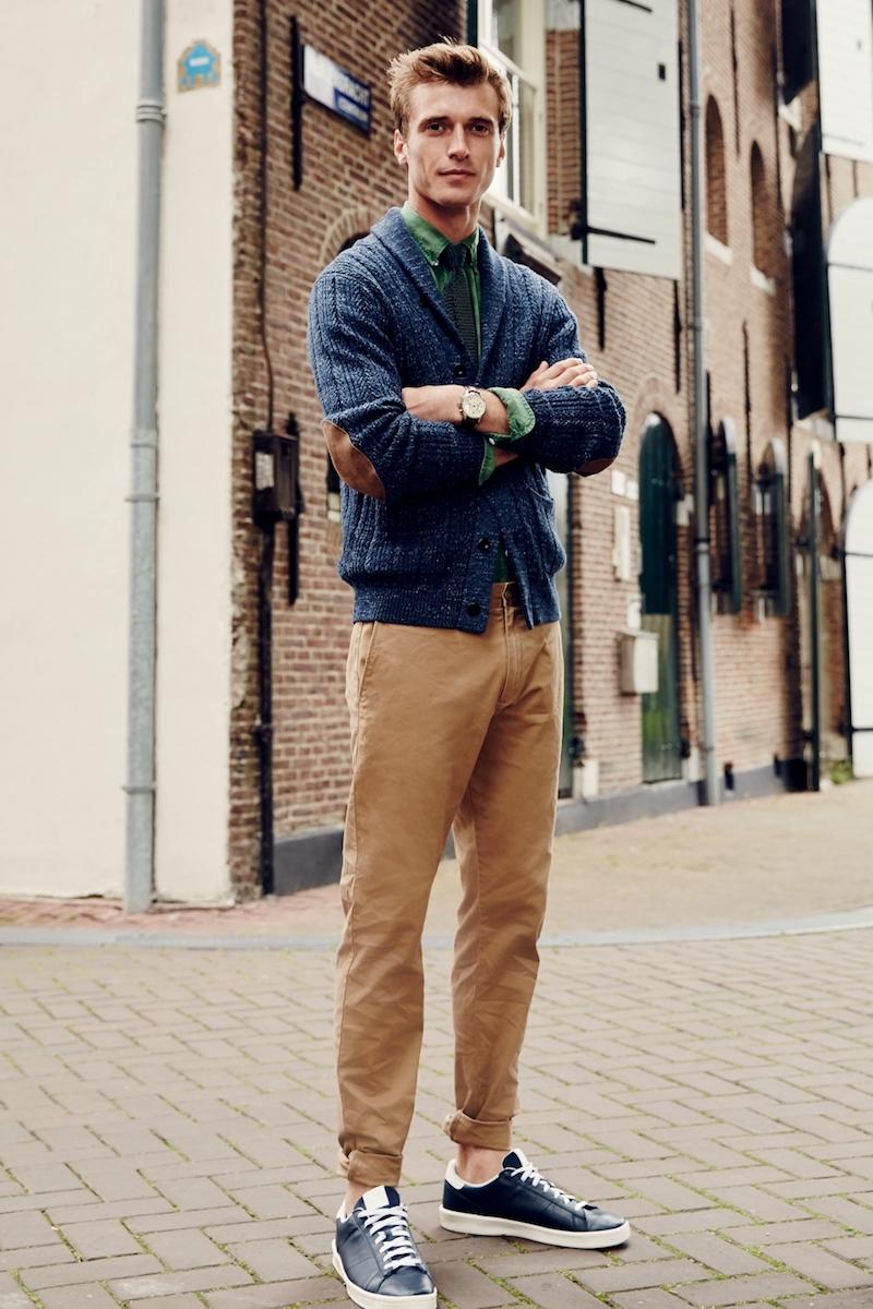 J.Crew Cotton Mariner Shawl Collar Cardigan Sweater