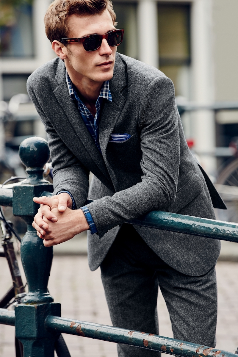 J.Crew Ludlow Suit Jacket In English Donegal Tweed