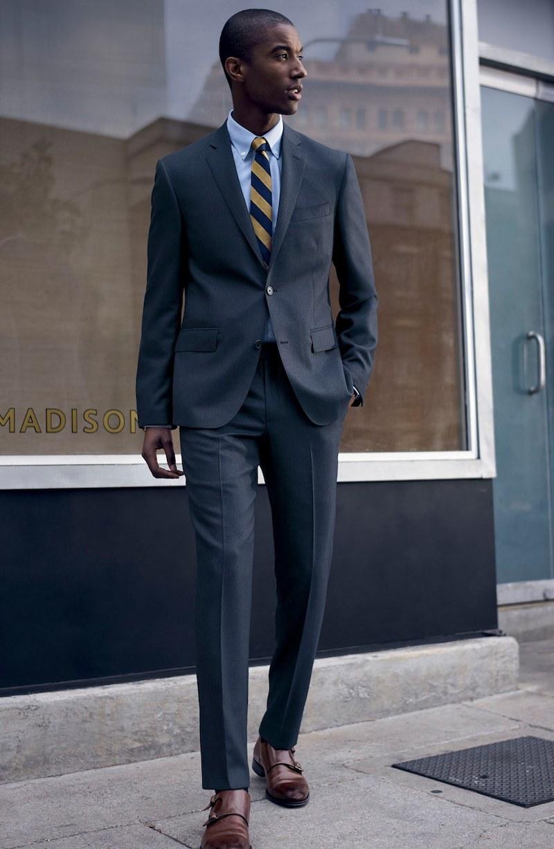 Nordstrom Men's Shop Trim Fit Solid Wool Sport Coat